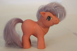 """Vintage 1984 My Little Pony """"Baby Ember"""" Pink w/ Purple Hair - $10.99"""