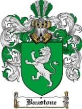 Baustone Family Crest / Coat of Arms JPG or PDF Image Download - $6.99