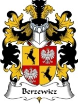Berzewicz Family Crest / Coat of Arms JPG or PDF Image Download - $6.99