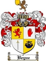 Beyne Family Crest / Coat of Arms JPG or PDF Image Download - $6.99