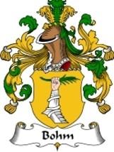 Bohm Family Crest / Coat of Arms JPG or PDF Ima... - $6.99