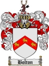 Bolton Family Crest / Coat of Arms JPG or PDF Image Download - $6.99