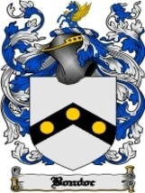 Bondoc Family Crest / Coat of Arms JPG or PDF Image Download - $6.99