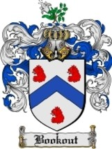 Bookout Family Crest / Coat of Arms JPG or PDF Image Download - $6.99