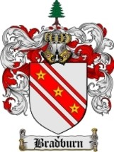 Bradburn Family Crest / Coat of Arms JPG or PDF Image Download - $6.99