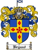 Primary image for Bryand Family Crest / Coat of Arms JPG or PDF Image Download