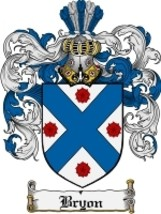 Bryon Family Crest / Coat of Arms JPG or PDF Image Download - $6.99