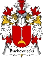 Primary image for Buchowiecki Family Crest / Coat of Arms JPG or PDF Image Download