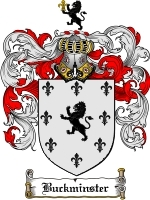Primary image for Buckminster Family Crest / Coat of Arms JPG or PDF Image Download
