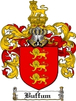 Primary image for Buffum Family Crest / Coat of Arms JPG or PDF Image Download