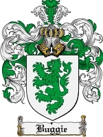 Primary image for Buggie Family Crest / Coat of Arms JPG or PDF Image Download