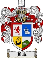 Primary image for Buie Family Crest / Coat of Arms JPG or PDF Image Download