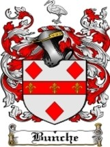 Bunche Family Crest / Coat of Arms JPG or PDF Image Download - $6.99