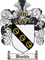 Primary image for Bunkle Family Crest / Coat of Arms JPG or PDF Image Download
