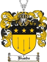 Primary image for Busbe Family Crest / Coat of Arms JPG or PDF Image Download