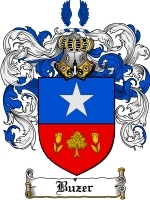 Primary image for Buzer Family Crest / Coat of Arms JPG or PDF Image Download