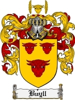 Primary image for Buyll Family Crest / Coat of Arms JPG or PDF Image Download