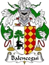 Balencegui Family Crest / Coat of Arms JPG or PDF Image Download - $6.99