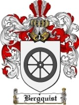 Bergquist Family Crest / Coat of Arms JPG or PD... - $6.99