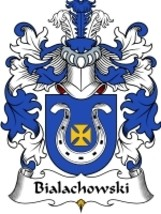 Bialachowski Family Crest / Coat of Arms JPG or PDF Image Download - $6.99
