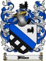 Billau Family Crest / Coat of Arms JPG or PDF Image Download - $6.99