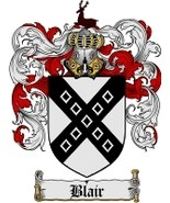 Blair Family Crest / Coat of Arms JPG or PDF Image Download - $6.99