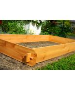Garden Raised Bed Planter Flower Box Cedar Vegetable Kit Outdoor Herb Ne... - $64.99