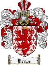 Brewe Family Crest / Coat of Arms JPG or PDF Image Download - $6.99