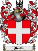 Brotto Family Crest / Coat of Arms JPG or PDF Image Download - $6.99