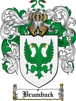 Primary image for Brumback Family Crest / Coat of Arms JPG or PDF Image Download