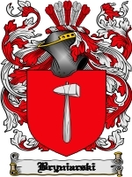 Primary image for Bryniarski Family Crest / Coat of Arms JPG or PDF Image Download