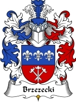 Primary image for Brzezecki Family Crest / Coat of Arms JPG or PDF Image Download
