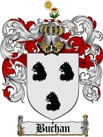 Primary image for Buchan Family Crest / Coat of Arms JPG or PDF Image Download