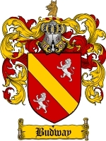Primary image for Budway Family Crest / Coat of Arms JPG or PDF Image Download