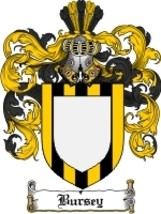 Bursey Family Crest / Coat of Arms JPG or PDF Image Download - $6.99