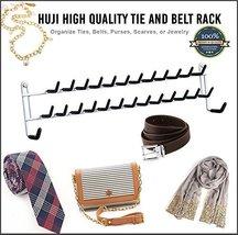 Huji High Quality Wall Mount Tie and Belt Rack ... - $7.99