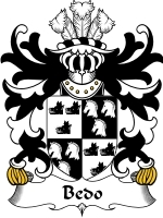 Bedo Family Crest / Coat of Arms JPG or PDF Image Download