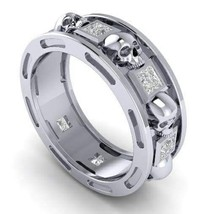 Skull Wedding Ring  Men or Woman Temple of the ... - $1,799.00