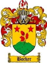 Bocker Family Crest / Coat of Arms JPG or PDF Image Download - $6.99
