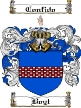 Boyt Family Crest / Coat of Arms JPG or PDF Image Download - $6.99