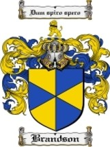 Brandson Family Crest / Coat of Arms JPG or PDF Image Download - $6.99