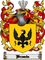 Primary image for Brosda Family Crest / Coat of Arms JPG or PDF Image Download