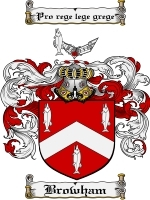 Primary image for Browham Family Crest / Coat of Arms JPG or PDF Image Download