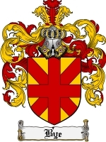 Primary image for Bye Family Crest / Coat of Arms JPG or PDF Image Download