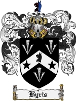 Primary image for Byris Family Crest / Coat of Arms JPG or PDF Image Download