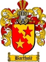 Barthole Family Crest / Coat of Arms JPG or PDF... - $6.99