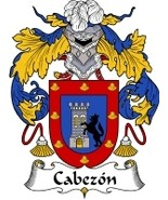 Cabezon Family Crest / Coat of Arms JPG or PDF Image Download - $6.99