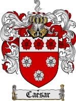 Primary image for Caesar Family Crest / Coat of Arms JPG or PDF Image Download
