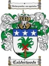 Calderwode Family Crest / Coat of Arms JPG or PDF Image Download - $6.99