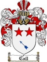Call Family Crest / Coat of Arms JPG or PDF Image Download - $6.99